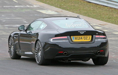 Aston Martin DB9 Successor Caught Playing On The Nurburgring: Spy Shots