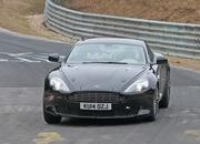 Aston Martin DB9 Successor Caught Playing On The Nurburgring: Spy Shots - image 623634