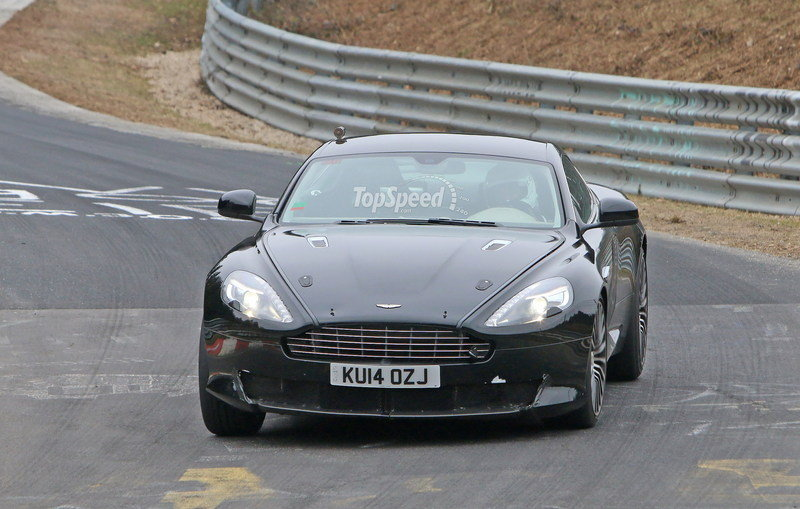 Aston Martin DB9 Successor Caught Playing On The Nurburgring: Spy Shots Exterior Spyshots - image 623634