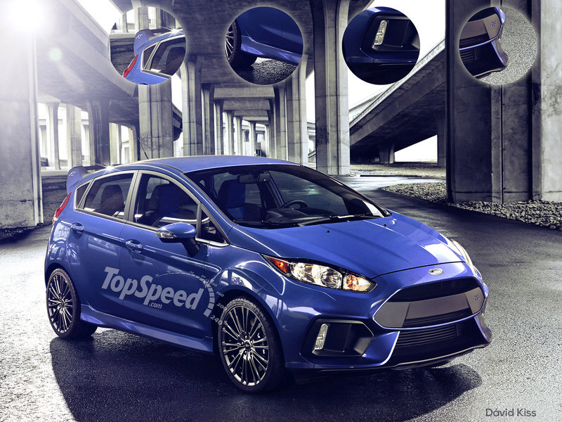 2017 Ford Fiesta RS Exclusive Renderings - image 623566