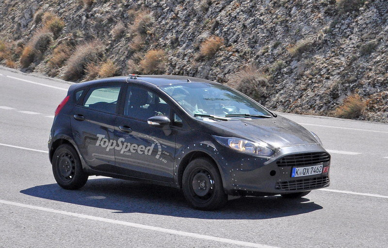 Ford May Finally Build a Fiesta RS, But It's Not Coming to the U.S. Exterior Spyshots - image 621579