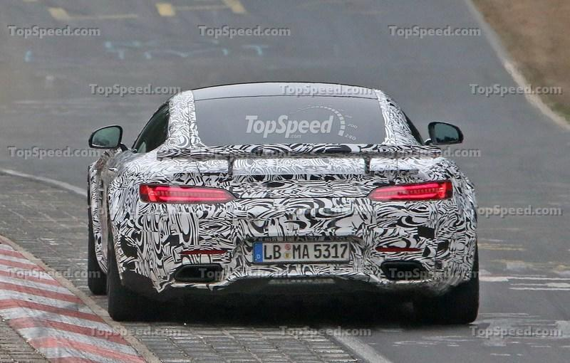 Track-Ready Mercedes-AMG GT Spotted On the Nurburgring: Spy Shots Exterior Spyshots - image 623877