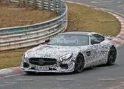 Track-Ready Mercedes-AMG GT Spotted On the Nurburgring: Spy Shots - image 623879