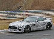 Track-Ready Mercedes-AMG GT Spotted On the Nurburgring: Spy Shots - image 623880
