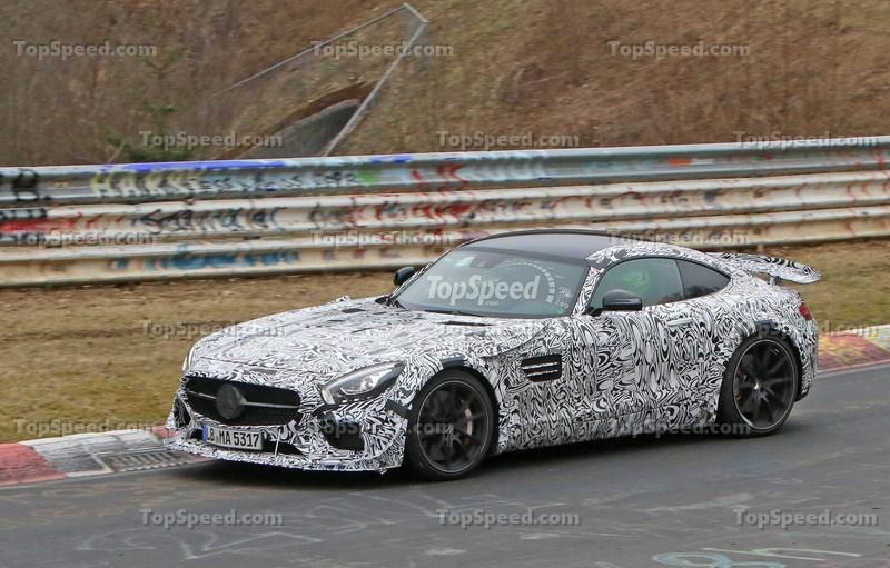 Track-Ready Mercedes-AMG GT Spotted On the Nurburgring: Spy Shots Exterior Spyshots - image 623880