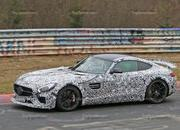 Track-Ready Mercedes-AMG GT Spotted On the Nurburgring: Spy Shots - image 623881