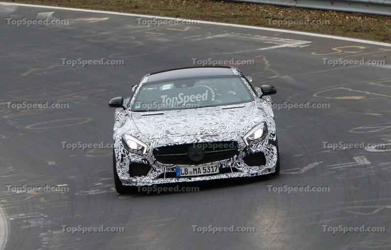 Track-Ready Mercedes-AMG GT Spotted On the Nurburgring: Spy Shots Exterior Spyshots - image 623876