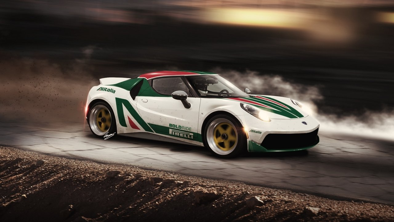 alfa romeo 4c rally car picture 621139 car news top. Black Bedroom Furniture Sets. Home Design Ideas