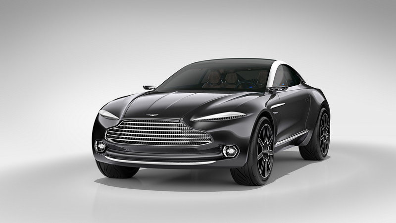 2015 Aston Martin DBX Concept High Resolution Exterior Wallpaper quality - image 619834