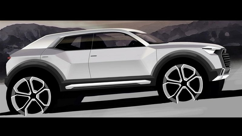 Audi Plans a Sub-Q1 Two-Door Crossover
