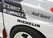 1982 Audi Quattro A1 Group B Rally Car - image 621694