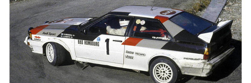 1982 Audi Quattro A1 Group B Rally Car Exterior - image 621684
