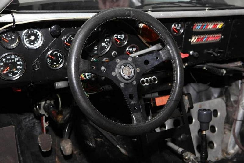 1982 Audi Quattro A1 Group B Rally Car Interior - image 621685