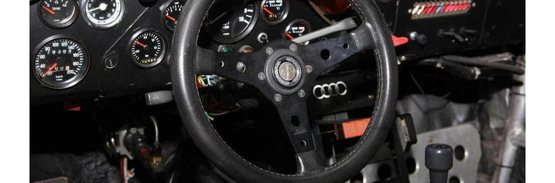 1982 Audi Quattro A1 Group B Rally Car Interior - image 621689