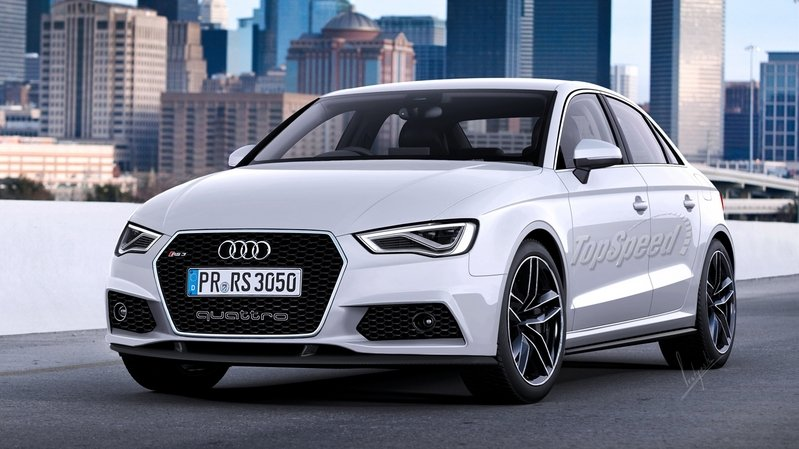 Audi RS3 Sedan Rumored To Get U.S. Approval