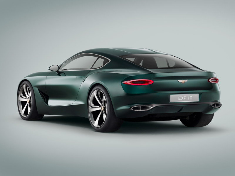 Don't Hold Out for a Two-Seater Sports Coupe from Bentley - It's Not Going to Happen