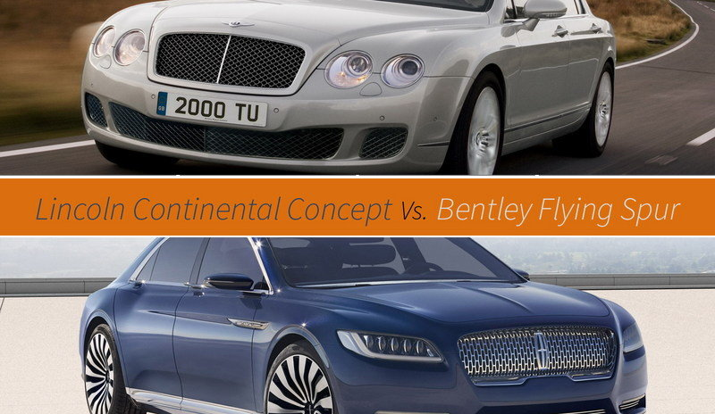 Bentley Says New Lincoln Copies The Flying Spur
