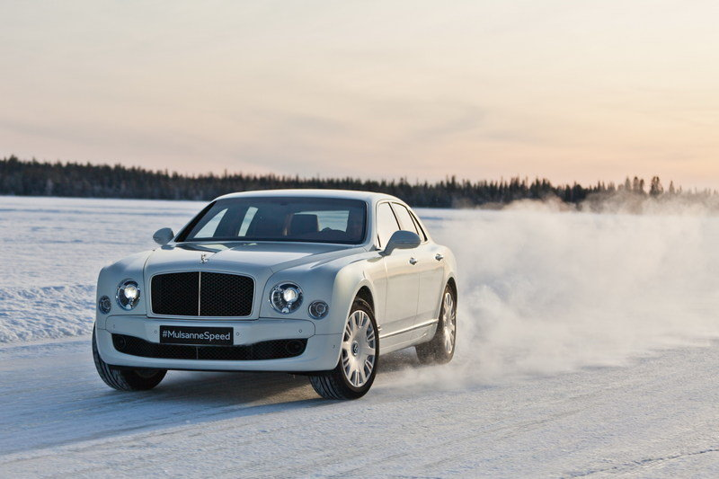 Best Year For Bentley's Power on Ice