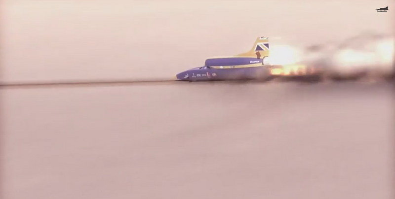 Bloodhound SSC Panel Gets Shot With A 2,000 MPH Projectile: Video