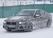 BMW 1 Series Sedan Caught Winter Testing: Spy Shots - image 619451