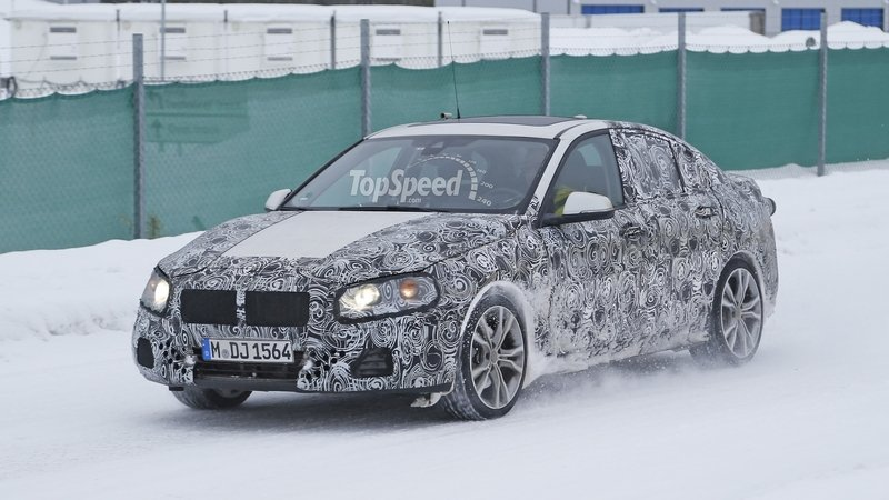 BMW 1 Series Sedan Caught Winter Testing: Spy Shots