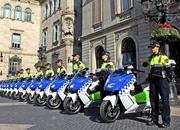 BMW Delivers Fleet Of Electric Maxi Scooters To Barcelona Police - image 621606