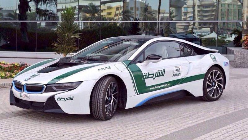 BMW I8 Joins Dubai Police Fleet