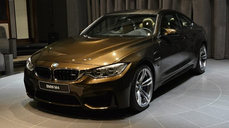 2015 BMW M4 Coupe Pyrite Brown Edition