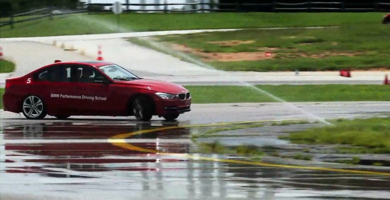BMW's Performance Driving School: Video
