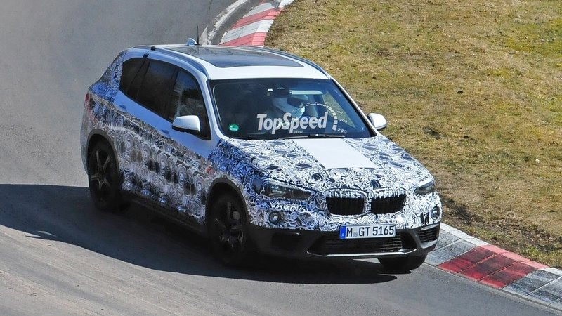 2016 BMW X1 Gets Tested Everywhere: Spy Shots