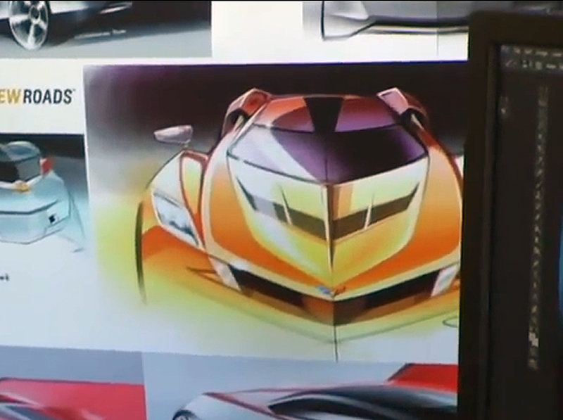 Future Chevrolet Corvette, CUV Teased In TV Show Clip?