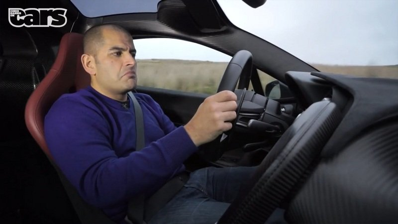 Watch Chris Harris Have Fun In the Mclaren P1: Video