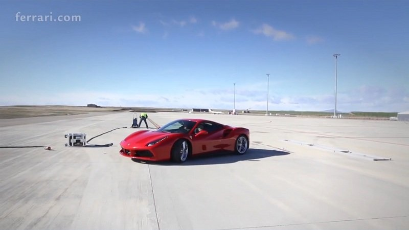 How The Ferrari 488 GTB Official Video Was Made: Video