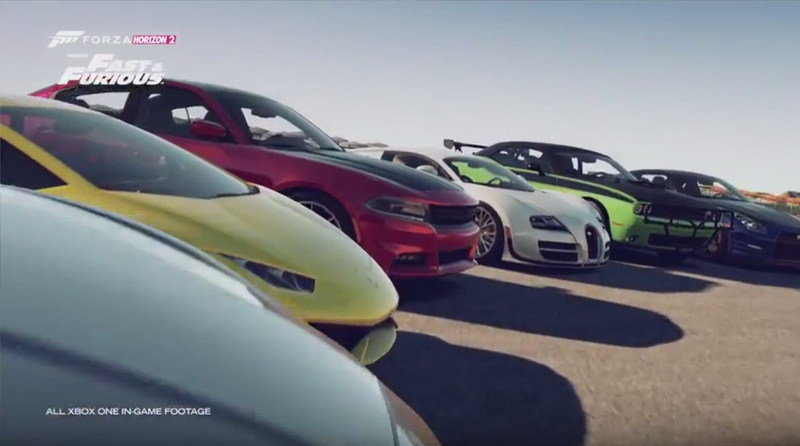 Forza Horizon 2 Presents Fast & Furious Launch Trailer: Video