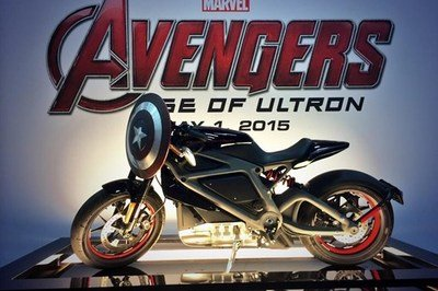 Harley-Davidson LiveWire Prominently Featured in Avengers: Age of Ultron