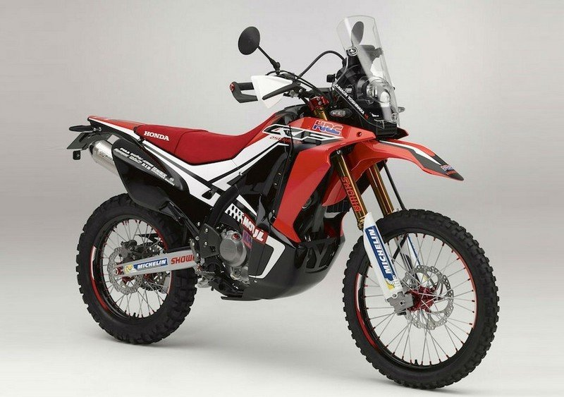 2015 Honda CRF250 Rally Concept | Top Speed