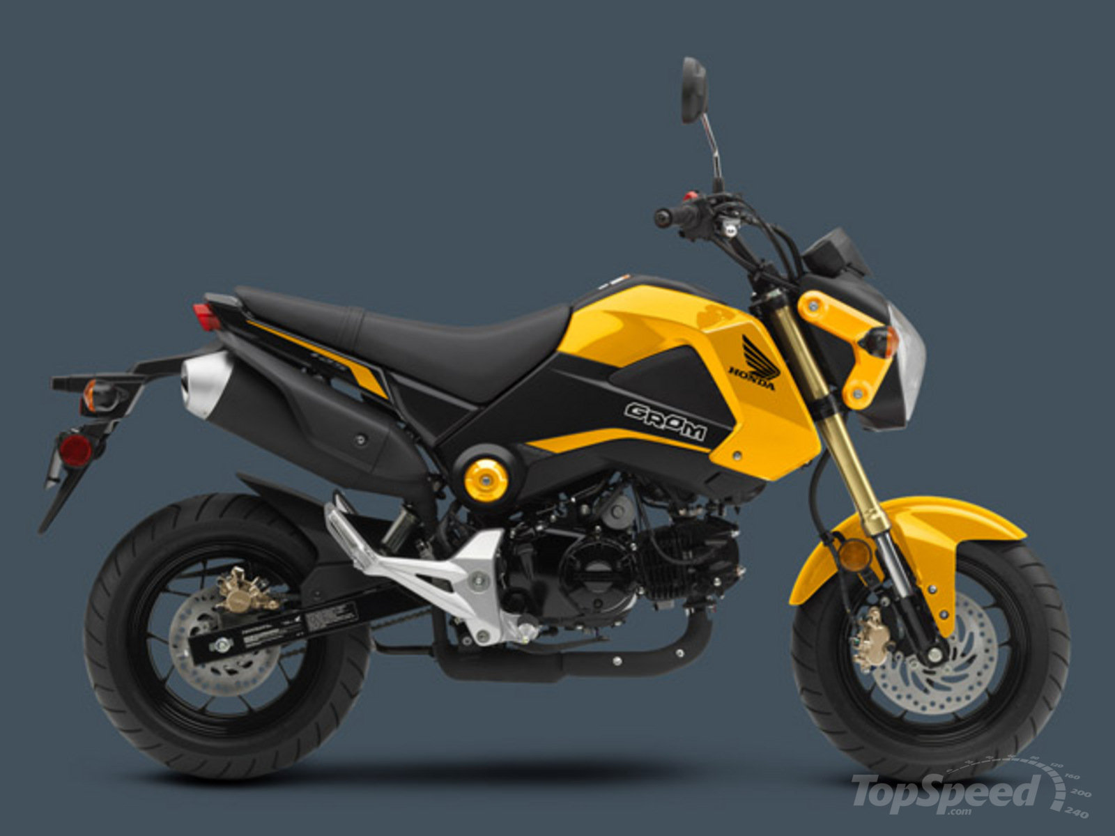 honda grom review top speed