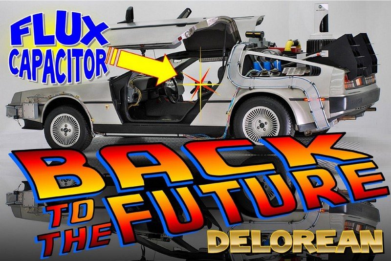 IL Car Museum Giving Away Replica BTTF Delorean
