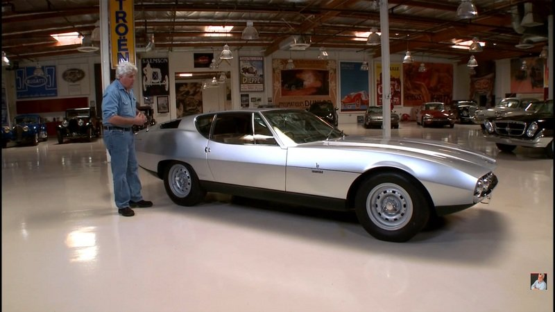 Jay Leno Reviews 1967 Bertone Pirana: Video