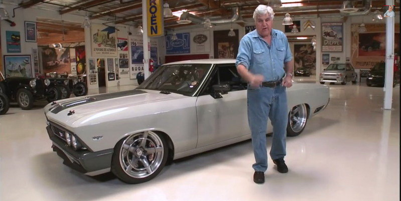 "Jay Leno Drives RingBrothers' 1966 Chevrolet Chevelle ""Recoil"": Video"