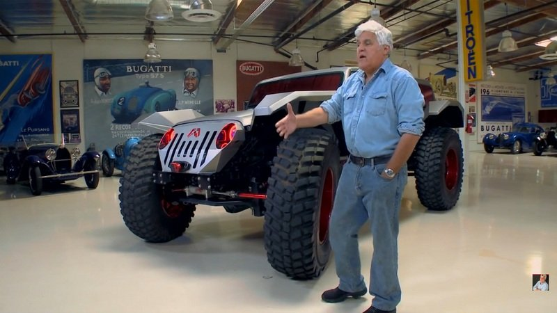 Jay leno garage news and reviews top speed for Garage auto fab ennery