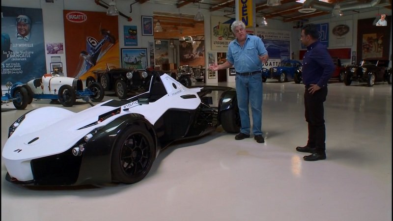 Jay Leno Reviews The BAC Mono: Video