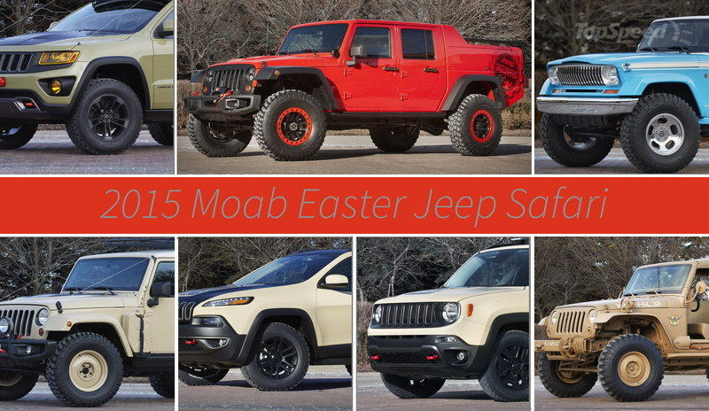 Jeep Reveals Seven Concepts For 2015 Moab Easter Jeep Safari