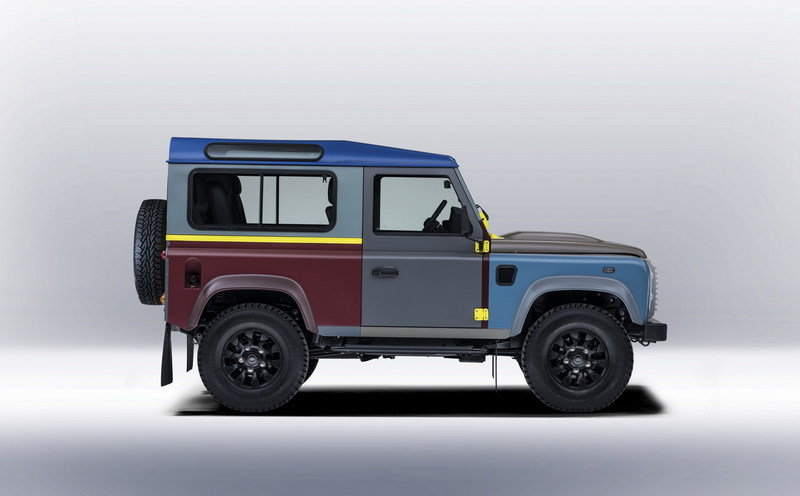 2015 Land Rover Defender Paul Smith Edition High Resolution Exterior - image 623189