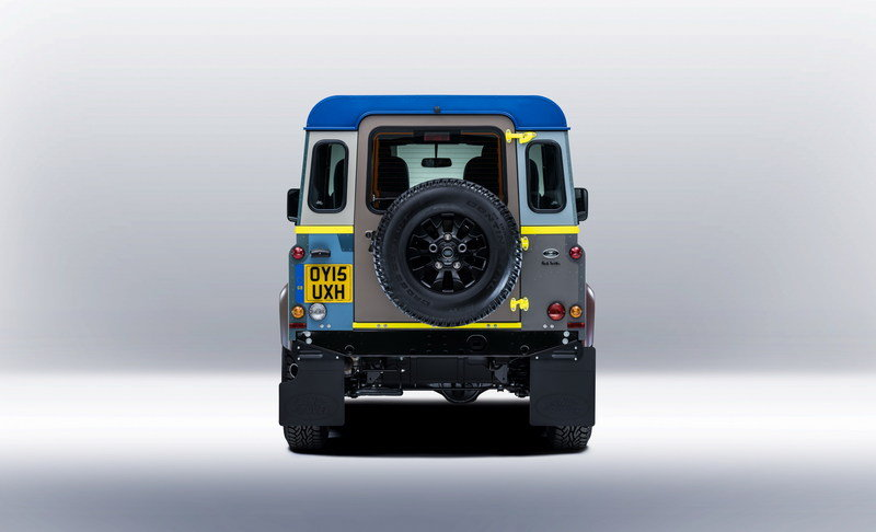 2015 Land Rover Defender Paul Smith Edition High Resolution Exterior - image 623197
