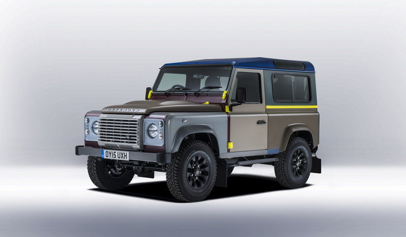 2015 Land Rover Defender Paul Smith Edition High Resolution Exterior Wallpaper quality - image 623203