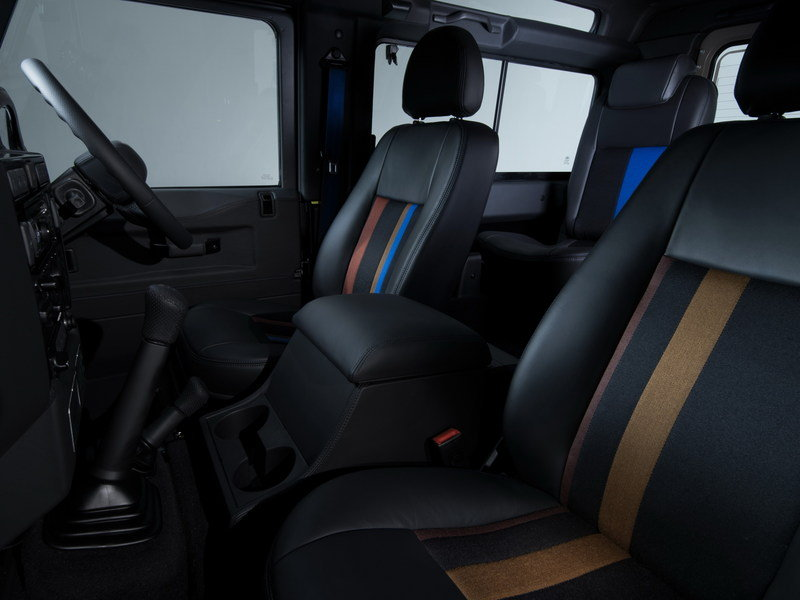 2015 Land Rover Defender Paul Smith Edition Interior - image 623204