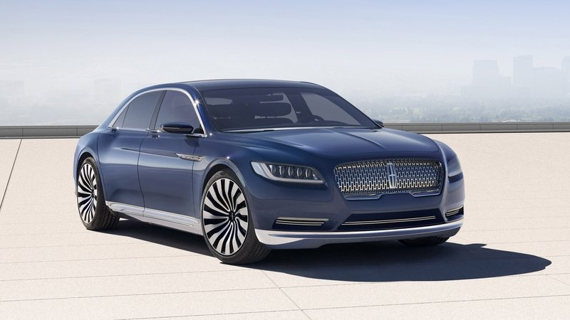Lincoln Officially Announces New Continental Will Be Unveiled Next Year