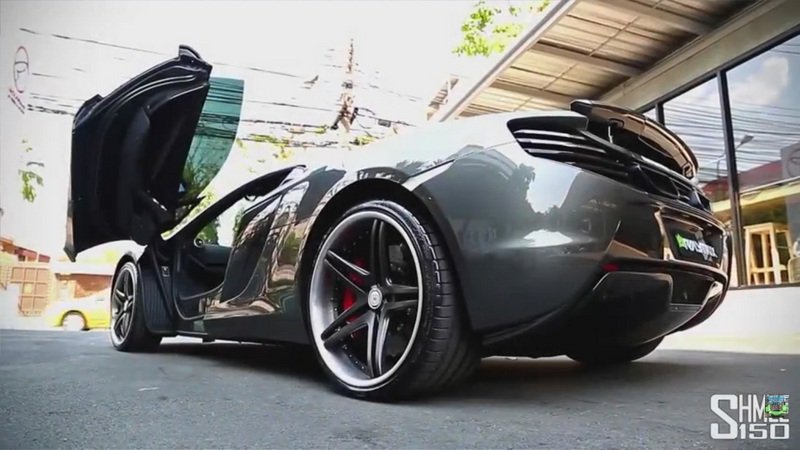 McLaren 650S Spider With Armytrix Performance Exhaust Makes Some Noise: Video