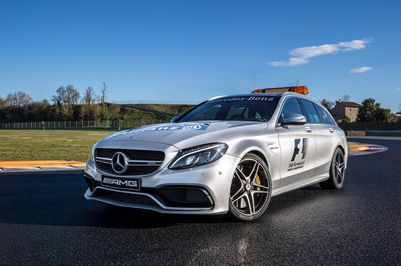 2015 Mercedes-AMG C 63 S Estate F1 Medical Car